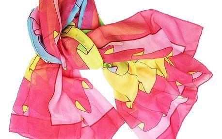 Plážový šátek - pestrobarevný