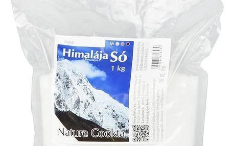 NATURECOOKTA Himalájská sůl bílá 1 kg