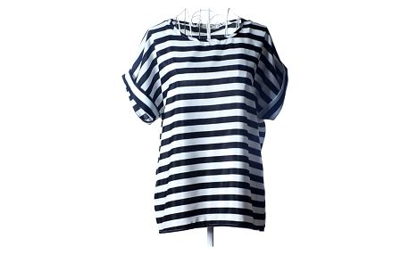Dámské tričko s volným střihem - typ 6, velikost č. 4