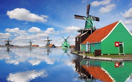 To nejlepší z Holandska, Amsterdam, Zaanse Schans, Den Haa..., Nizozemsko, autobusem, snídaně v ceně