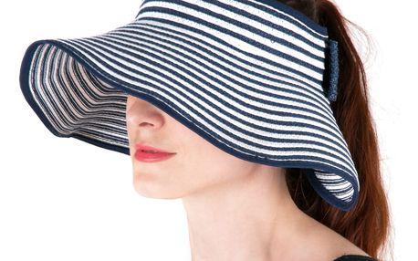 Fashion Icon Dámské slaměné stínítko - Slamák / slaměný klobouk