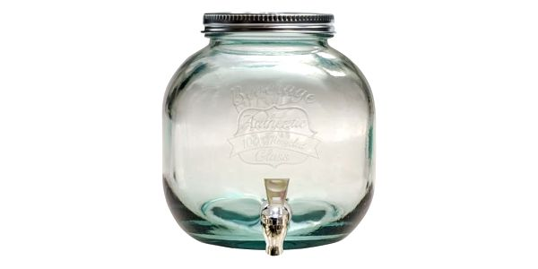 Nádoba na limonádu z recyklovaného skla Ego Dekor Authentic, 6 l