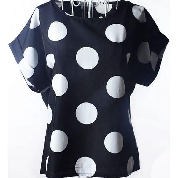 Dámské tričko s volným střihem - typ 4, velikost č. 3