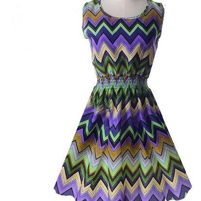 Rozmanité letní šaty - vzor: 19, velikost: 5 - dodání do 2 dnů