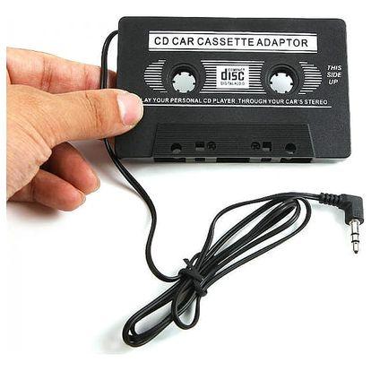 Kazetový adaptér do autorádia pro příjemnější cestování