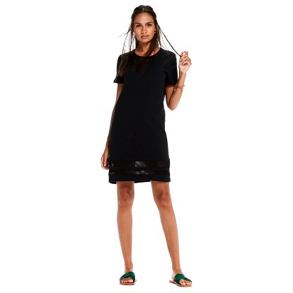 Scotch&Soda černé děrované sporty šaty - S