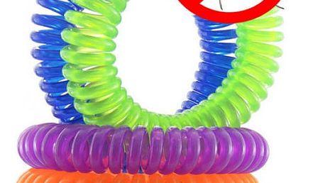 Repelentní spirálové gumičky 10 ks - Komáři nemají šanci!