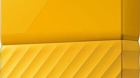 WD My Passport - 4TB, žlutá - WDBYFT0040BYL-WESN