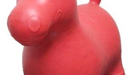 Skákací zvířátko Monza koník Ben červené