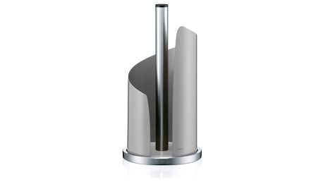 Světle šedý držák papírových utěrek Kela Stella