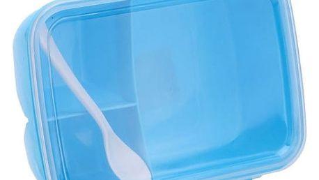 Box na jídlo s oddělenými přihrádkami - 3 barvy