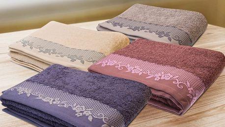 Bavlněné ručníky a osušky BJORK