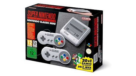 Nintendo Classic Mini: Super Nintendo Entertainment System - NICH015