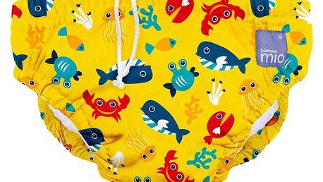 BAMBINO MIO Kalhotková koupací plena Deep Sea Yellow vel.L (9-12kg)