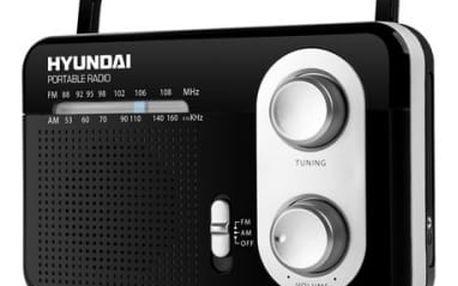 Radiopřijímač Hyundai PR 411 B černý