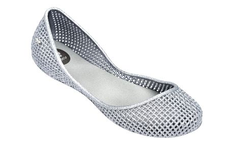 Zaxy stříbrné balerínky Amora Fem Silver - 39
