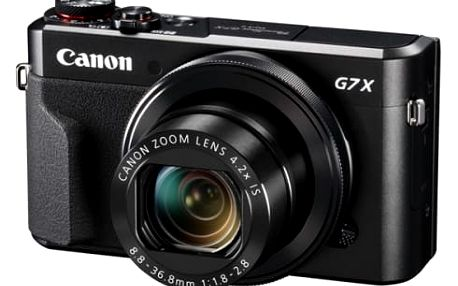 Digitální fotoaparát Canon G7X Mark II (1066C002) černý