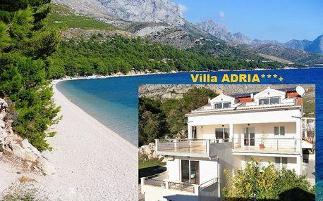 Chorvatsko levně Makarská Živogošče luxusní Villa ADRIA, dopr..., Živogošće, Chorvatsko, autobusem, bez stravy