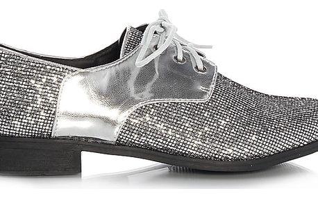 Stříbrné polobotky GC1503SI 41