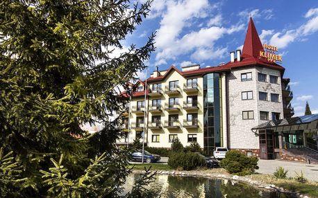 Hotel Klimek s polopenzí a neomezeným vstupem do aquaparku, sauny a tělocvičny