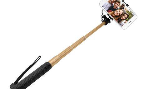 FIXED selfie tyč, teleskopická, zlatá - FIXSS-W-GD