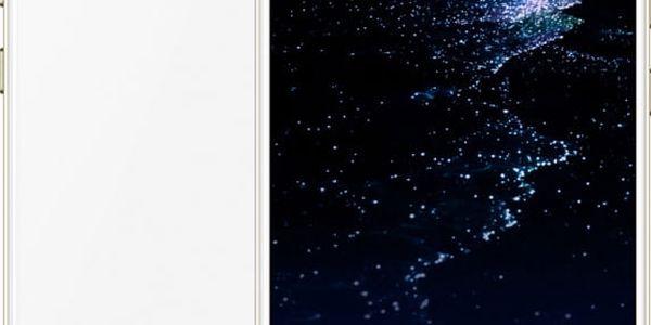 Huawei P10 Lite, Dual Sim, bílá - SP-P10LITEDSWOM + Zdarma nabíječka do auta, 9V/5V 2A + USB C kabel v ceně 999Kč