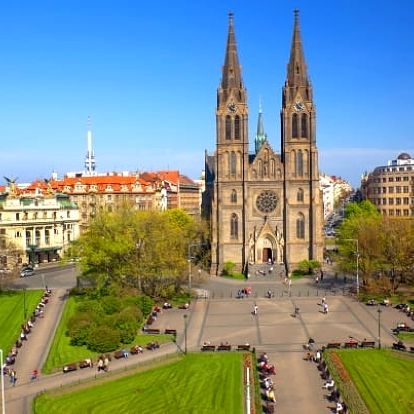 Klidné ubytování v centru Prahy pro dva