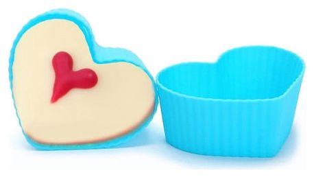 Silikonové formičky na cupcakes - 6 variant - 12 kusů
