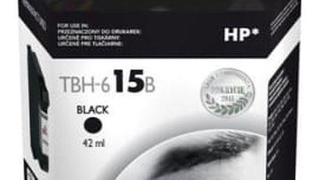 Inkoustová náplň TB HP C6615DE (No.15) Bk - kompatibilní (TBH-615B) černá kompatibilní
