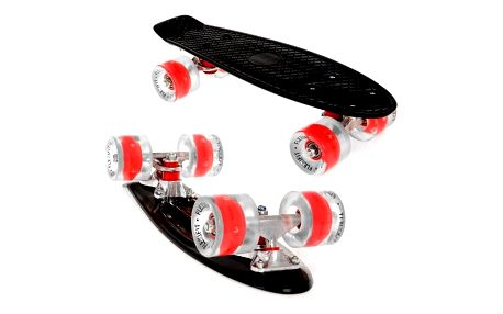 Penny board Fish LED F2 BLACK
