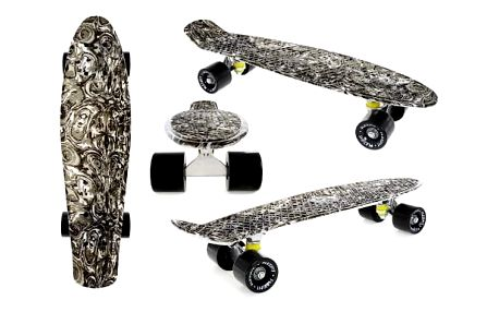 Penny board Fish F6 BLACK
