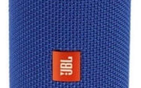 Přenosný reproduktor JBL FLIP4 (JBLFLIP4BLU) modrý