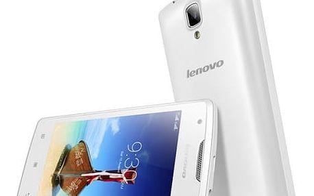 Mobilní telefon Lenovo A1000 DualSIM (PA1R0020CZ) bílý