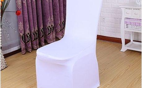 Elastický potah na židli - nevzorovaný ve více barvách - dodání do 2 dnů