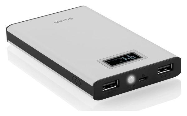 Powerbank GoGEN 8000mAh, display (GOGPBD80005WB) černá/bílá3