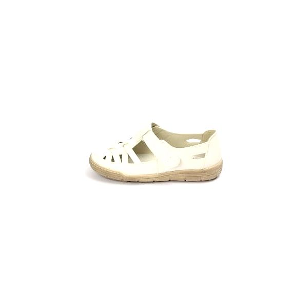 Kvalitná dámské zdravotní boty s koženou stélkou bílé