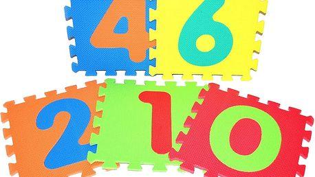 WIKY Pěnové puzzle Číslice
