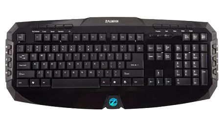 Zalman ZM-K300M, EN, černá - ZM-K300M EN + CZ přelepky, bílé v ceně 30 Kč
