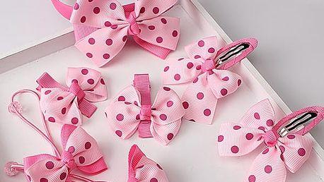 Set vlasových doplňků pro malé princezny - 4 varianty