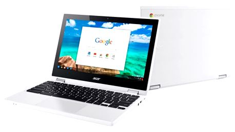 Acer Chromebook R11 (CB5-132T-C5RN), bílá - NX.G54EC.002