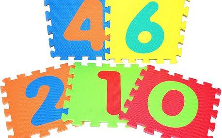 Wiky pěnové puzzle číslice 30 x 30 cm