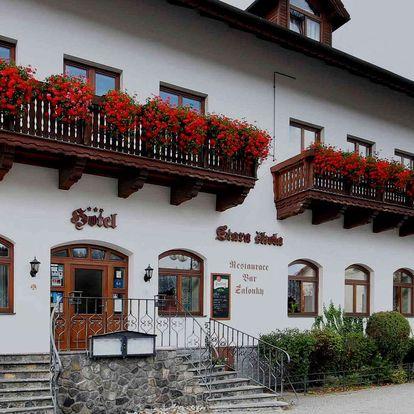 Hotel Stará Škola *** na Moravě ve všední dny