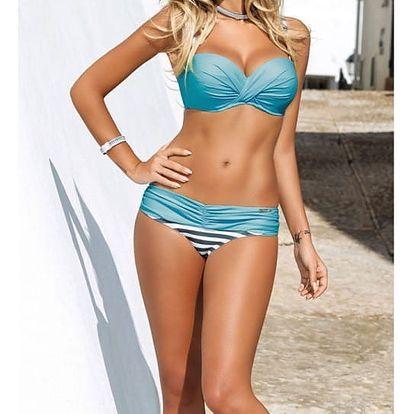 Dámské bikini v atraktivních barevných kombinacích - barva 18, vel. 2 - dodání do 2 dnů
