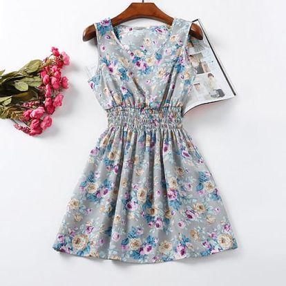 Rozmanité letní šaty - varianta 5, velikost 2 - dodání do 2 dnů