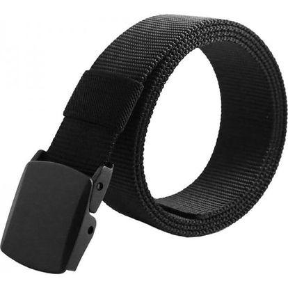 Pánský pásek s černou přezkou - 3 barvy