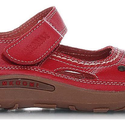 Červené baleríny 434-3R 36