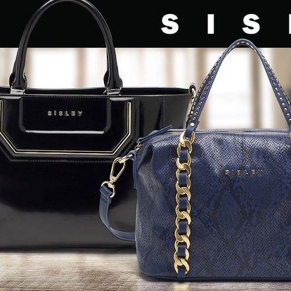 Šmrncovní dámské kabelky Sisley