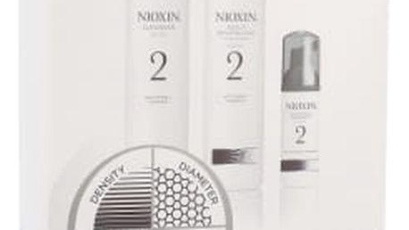 Nioxin System 2 dárková kazeta pro ženy šampón System 2 150 ml + kondicionér System 2 150 ml + vlasová péče System 2 40 ml