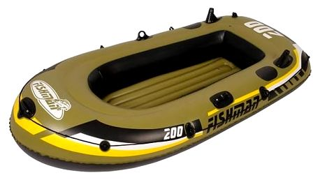 Člun nafukovací Master Fishman 200 set žlutý/hnědý
