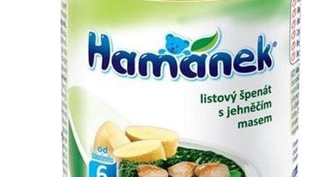 6x HAMÁNEK Listový špenát s jehněčími frikadelkami (230 g) - maso-zeleninový